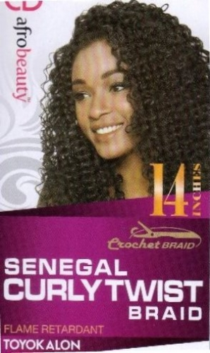 Senegal Curly Twist 14  inch-(Crochet Braid)-AfroBeautyCollection