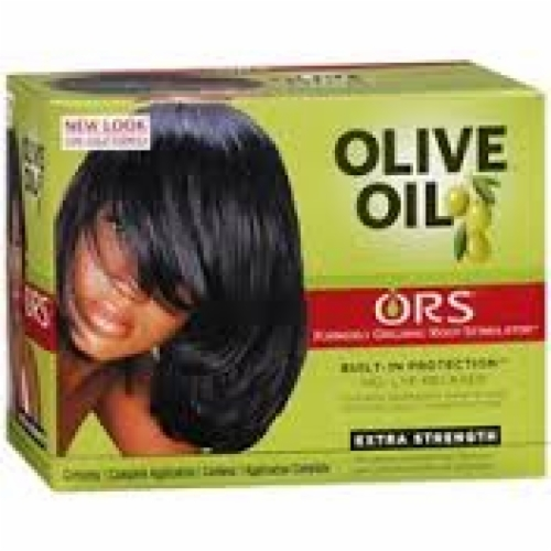 Olive Oil Built-In Protection-No-Lye Relaxer-Extra Strength
