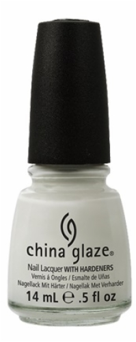 China Glaze Nail Lacquer-White on White