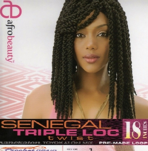 Senegal Triple Loc Twist 18